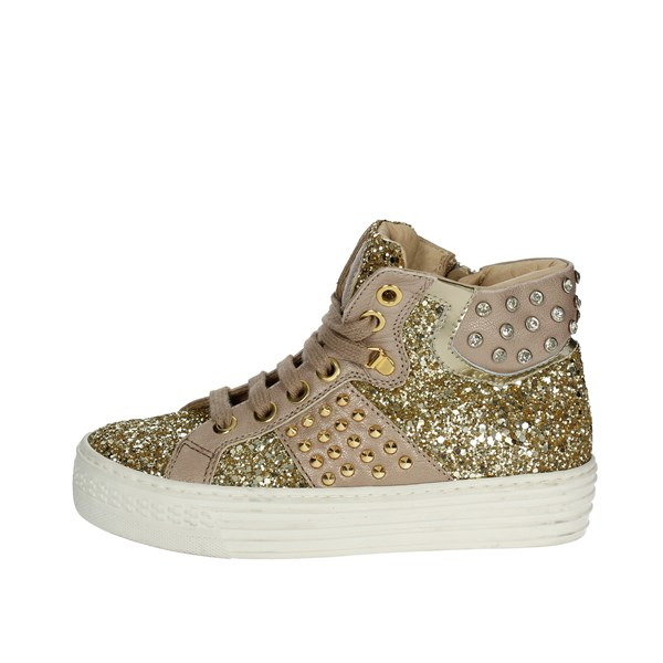 Florens Shoes Sneakers Gold F0948