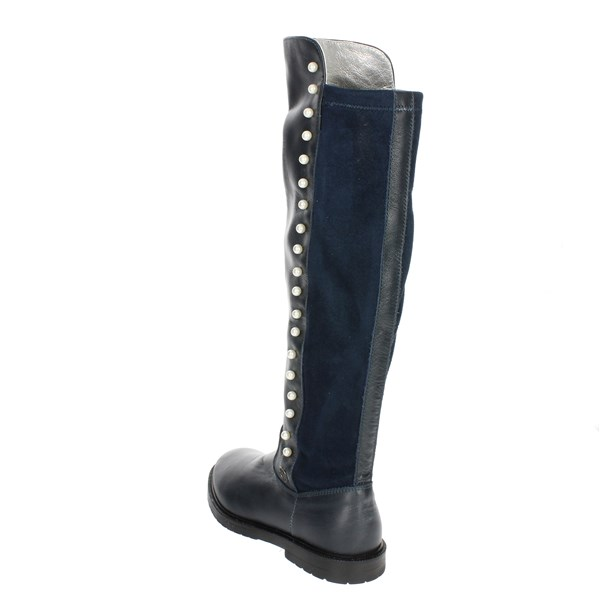 Blumarine  Shoes Boots Blue B4399