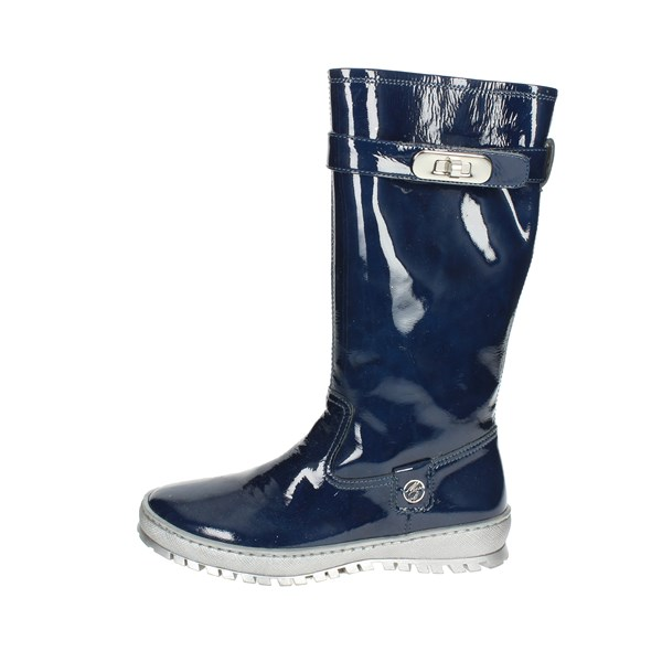 Blumarine  Shoes Boots Blue D2697