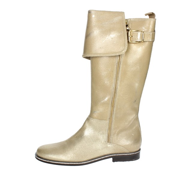 Blumarine  Shoes Boots Gold B4274