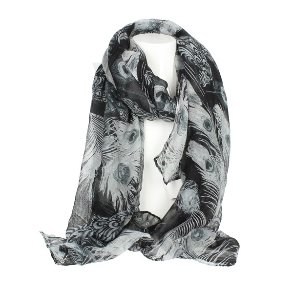 Gai Mattiolo Accessories Scarves Grey B01-1