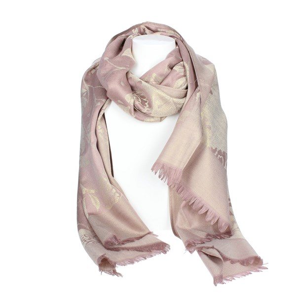 Gai Mattiolo Accessories Scarf Rose C04-3
