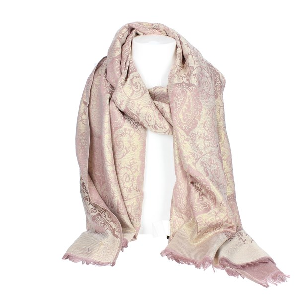Gai Mattiolo Accessories Scarf Rose C03-1