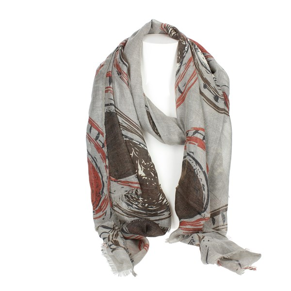 Gai Mattiolo Accessories Scarf Grey A07-1