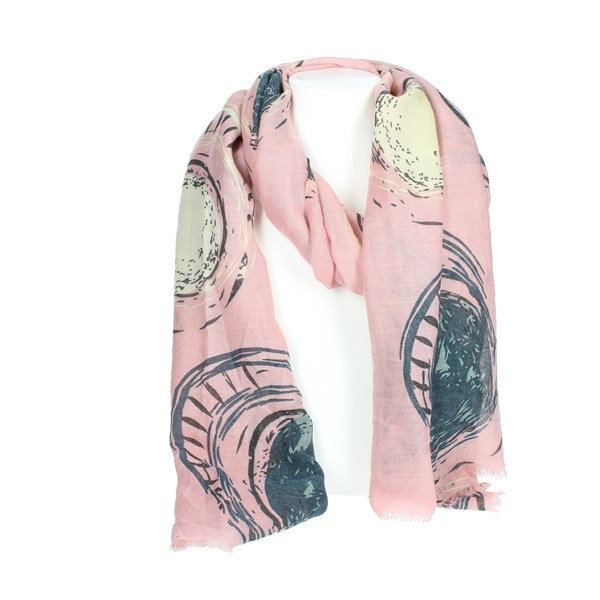 Gai Mattiolo Accessories Scarves Rose A07-3