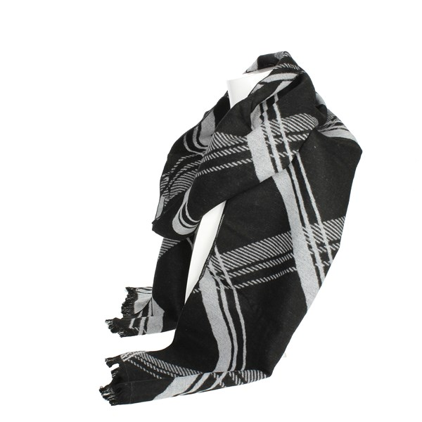 Gai Mattiolo Accessories Scarves Black U11-3