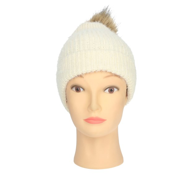 Gai Mattiolo Accessories Hats Creamy-white E01-3