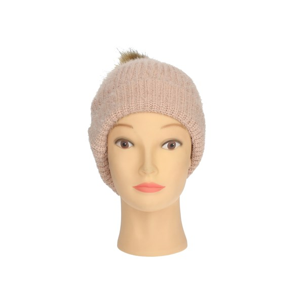 Gai Mattiolo Accessories Hats Rose E01-1