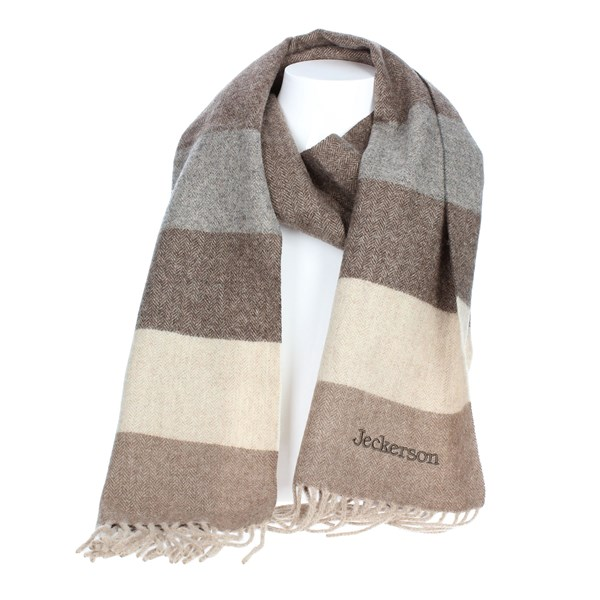 Jeckerson Accessories Scarf Beige SCR 12208