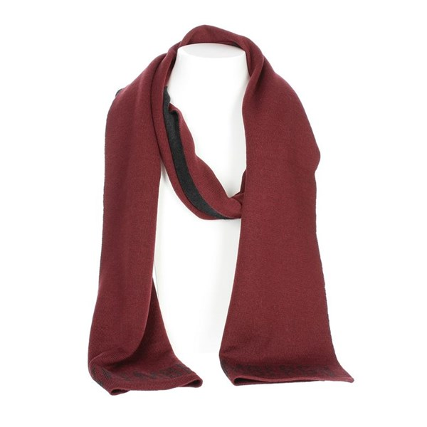 Bikkembergs Accessories Scarves Burgundy SCR 02630
