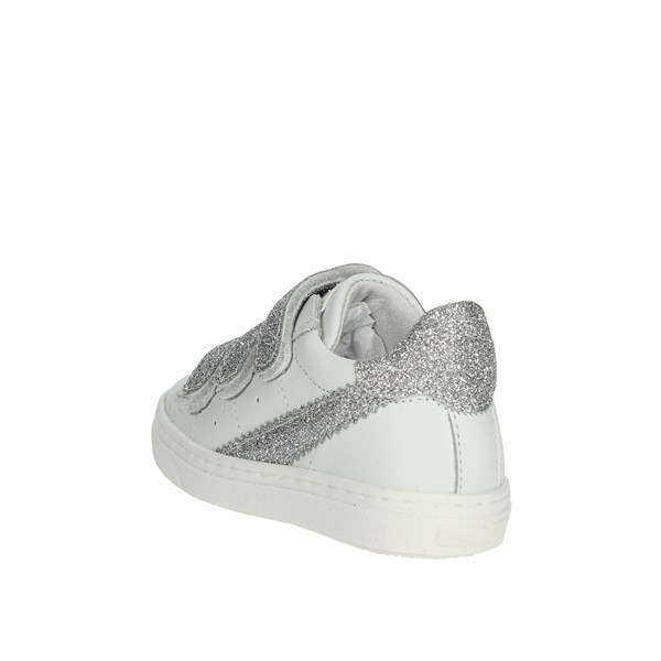 Ciao Bimbi Shoes Sneakers White/Silver 2307.30