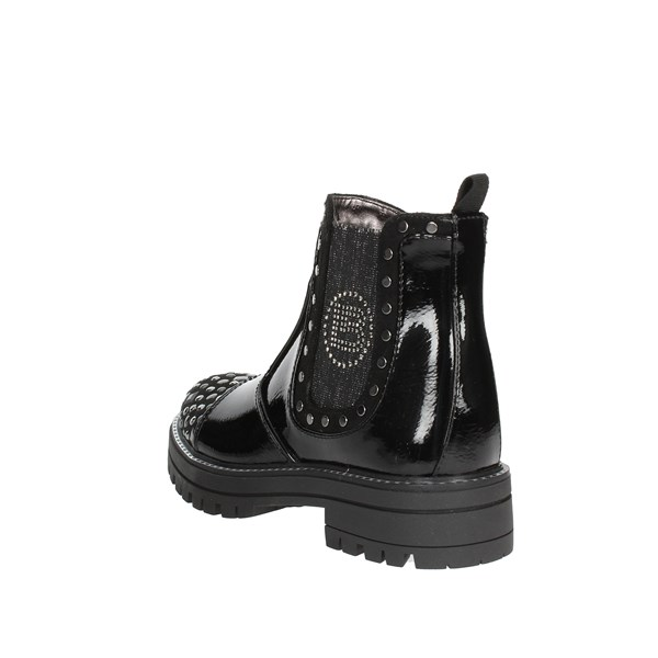 <Laura Biagiotti Dolls Shoes Ankle Boots Black 4777