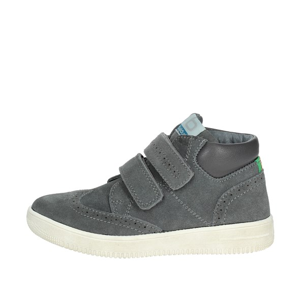 Balducci Shoes High Sneakers Grey BS107