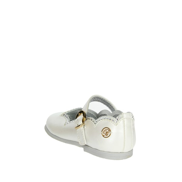 Blumarine  Shoes Ballet Flats White C4223