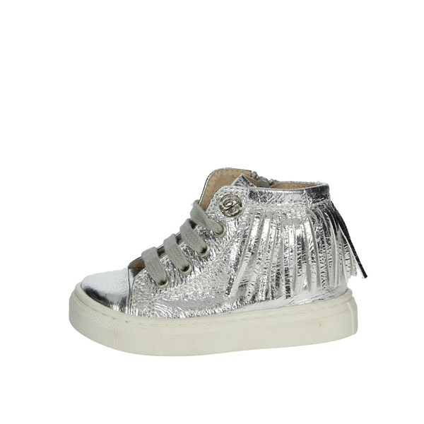 Blumarine  Shoes Sneakers Silver A6227