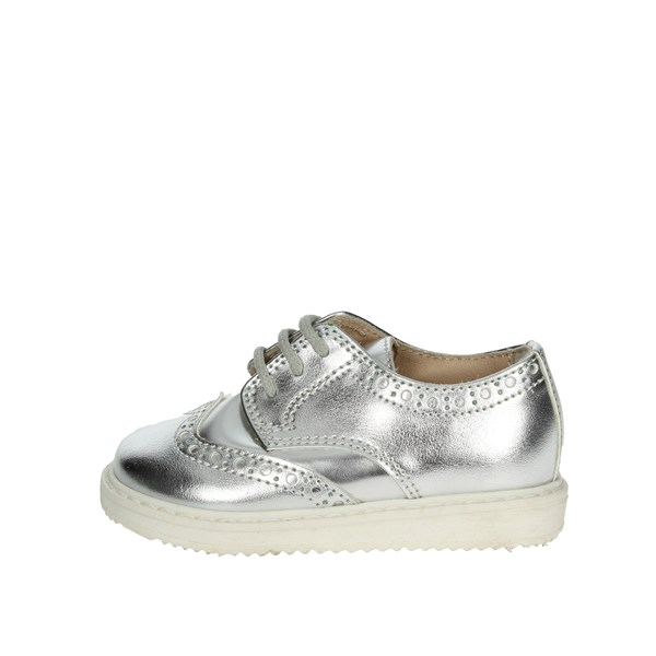 Florens Shoes Brogue Silver W8231