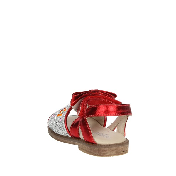 <Florens Shoes Sandals Red E2887