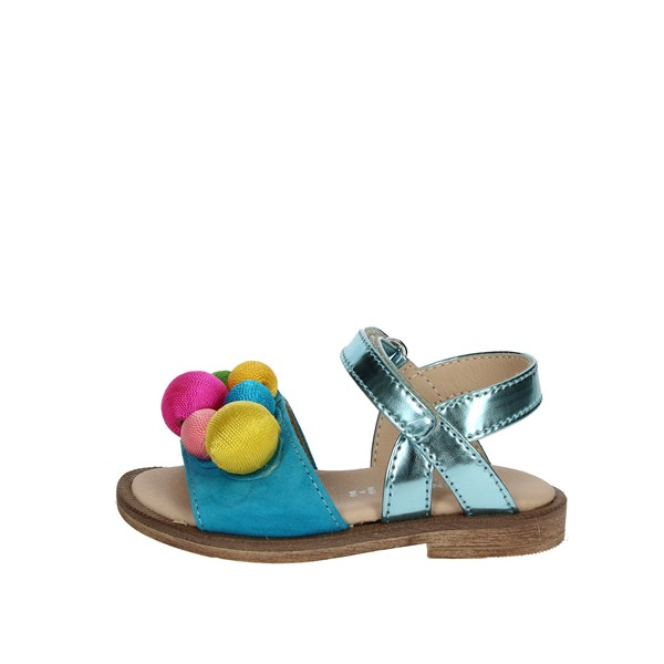 Florens Shoes Sandal Sky-blue W8749