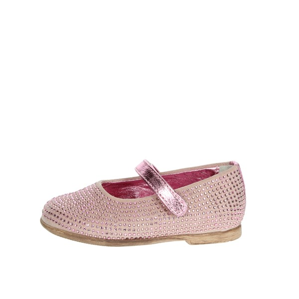 Florens Shoes Ballet Flats Light dusty pink W8126