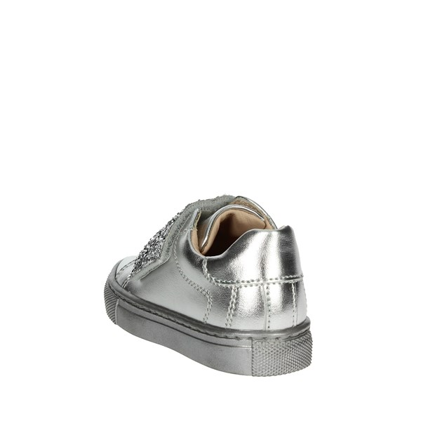 <Florens Shoes Sneakers Silver W8573