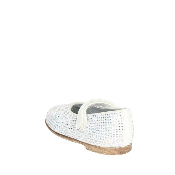 Florens Shoes Ballet Flats White W8126