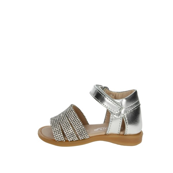 Florens Shoes Sandal Silver W8082