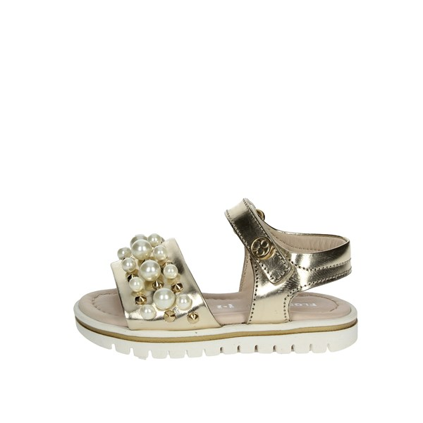 Florens Shoes Sandal Platinum  E2906