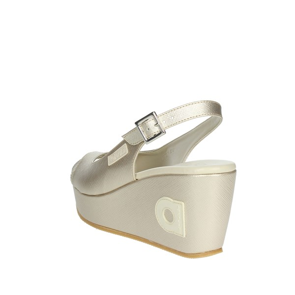 <Agile By Rucoline  Shoes Sandal Gold 1661