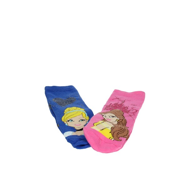 Disney Princess Accessories Socks Light Blue/Pink 71057