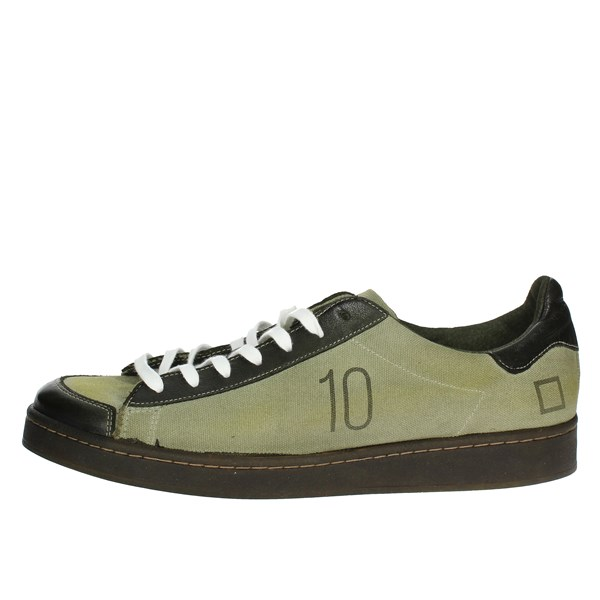 D.a.t.e. Shoes Low Sneakers Dark Green I18-252