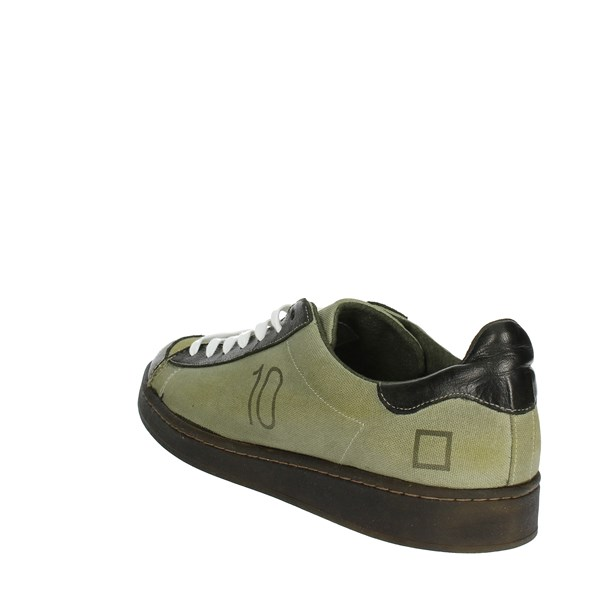 <D.a.t.e. Shoes Low Sneakers Dark Green I18-252