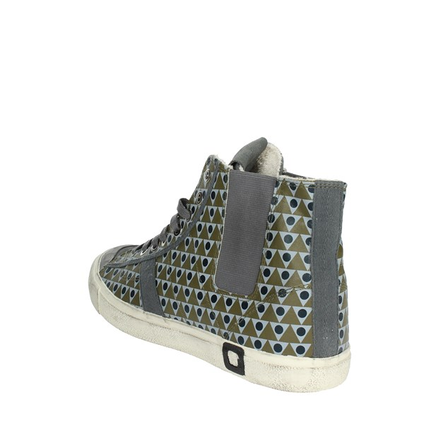 <D.a.t.e. Shoes High Sneakers Grey I18-260