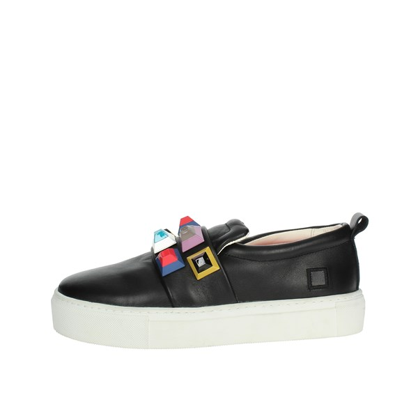 D.a.t.e. Shoes Slip-on Shoes Black I18-283