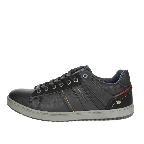 Wrangler Shoes Low Sneakers Black WM182102