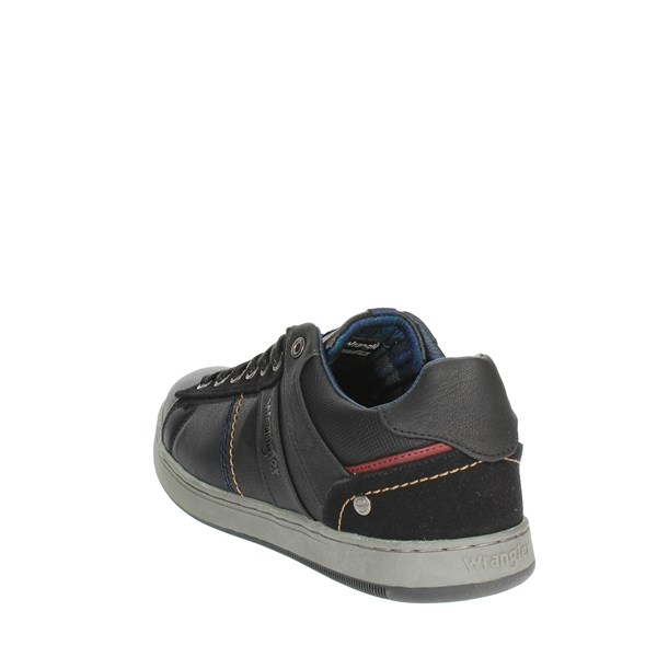 <Wrangler Shoes Low Sneakers Black WM182102