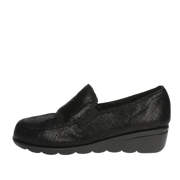 Cinzia Soft Shoes Moccasin Black IV9170-SF 001