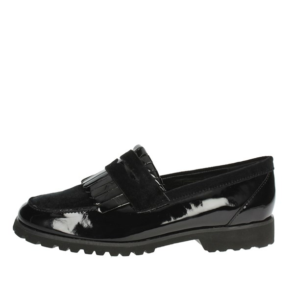 Cinzia Soft Shoes Moccasin Black IV9632-EV 001