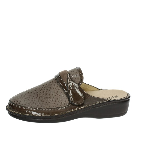 Novaflex Shoes Slipper Brown Taupe ROSSANA
