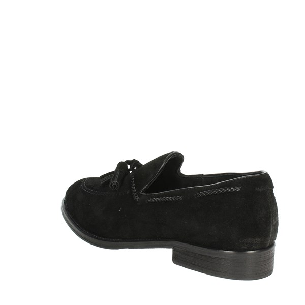 <Veni Shoes Loafers Black AT001