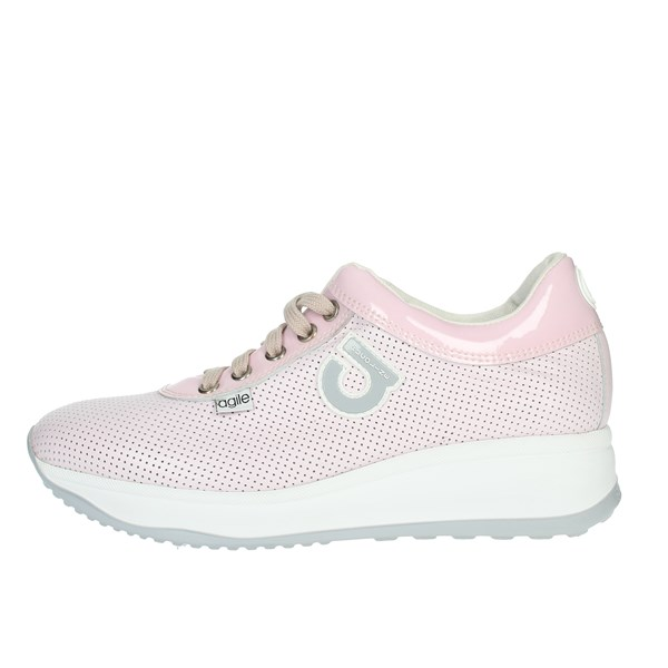 Agile By Rucoline  Shoes Sneakers Rose 1315