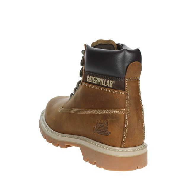 <Caterpillar Shoes Boots Brown leather P708190