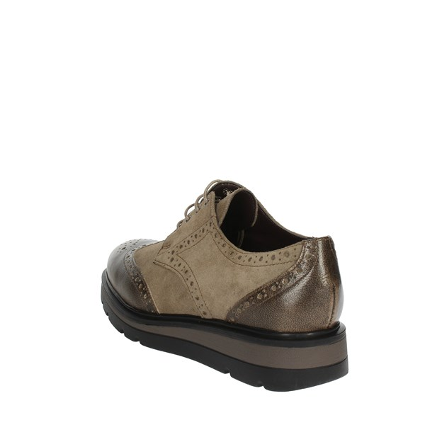 Cinzia Soft Shoes Brogue Brown Taupe IAL25603RTL 002