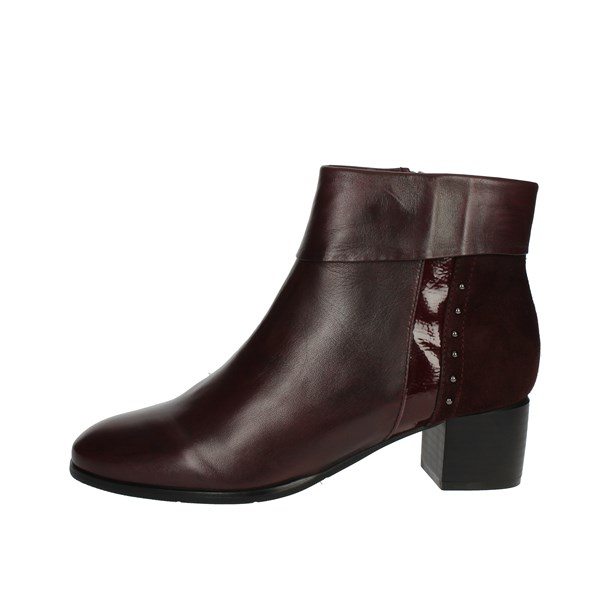 Cinzia Soft Shoes boots Burgundy ICB105 002