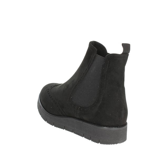 Novaflex Shoes Ankle Boots Black ALBONESE 004