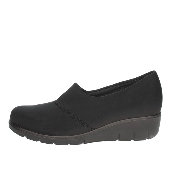 Novaflex Shoes Moccasin Black BOSISIO 001