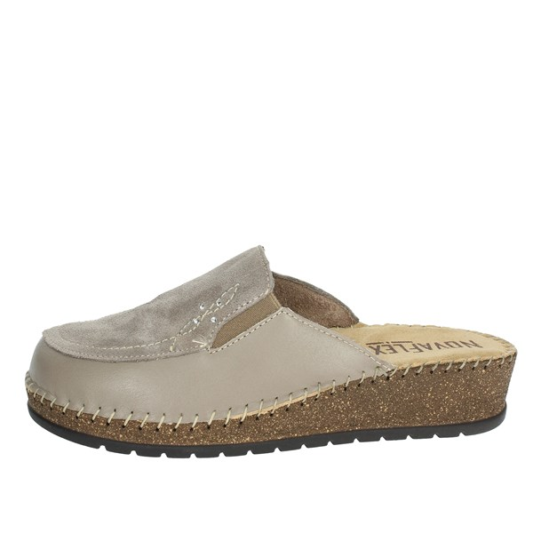 Novaflex Shoes slippers Brown Taupe PIGNOLA 002