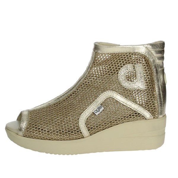 Agile By Rucoline  Shoes Sneakers Gold 2635