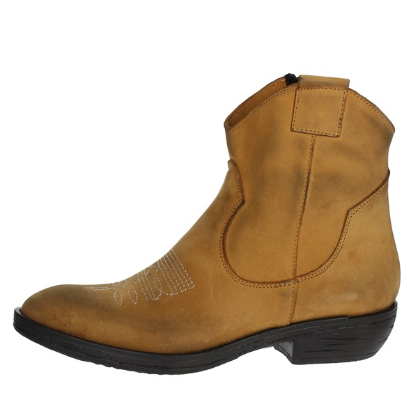 Tfa Shoes boots Brown leather TEX10