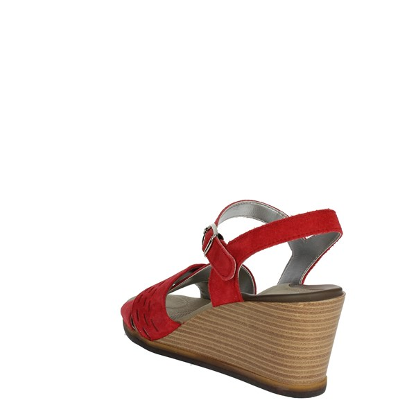 Scholl Shoes Sandals Red NIMFALIS