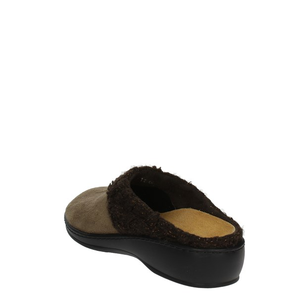 <Sanagens Shoes slippers Brown Taupe 8195-6
